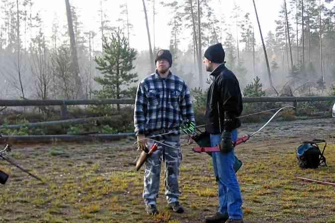 Första deltävlingen i vinterserien gick den 25 okt. på pistolskytte klubbens mark vid Eriksdal