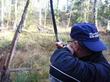 P-O skjuter sin första tävling med LB