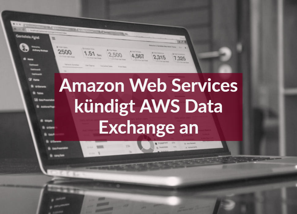 Amazon Web Services kündigt AWS Data Exchange an