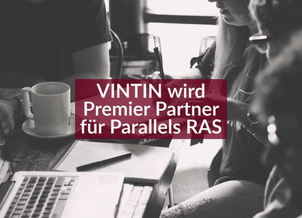 VINTIN wird Premier Partner für Parallels RAS