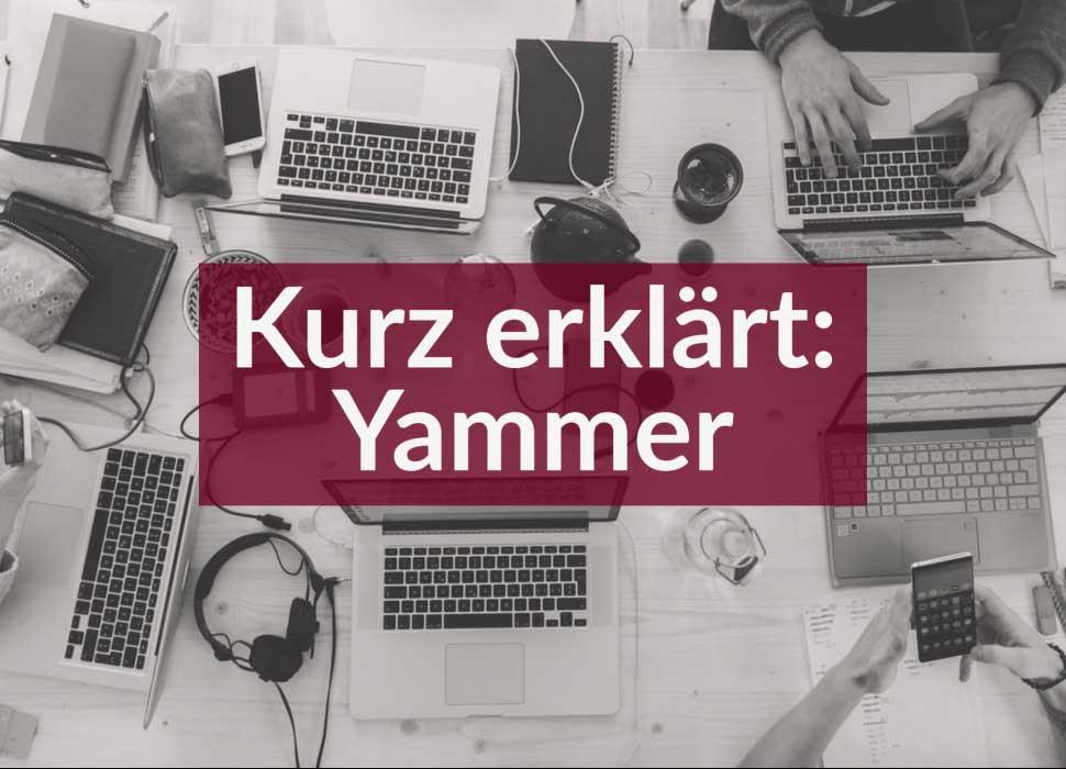 Kurz erklärt: Yammer