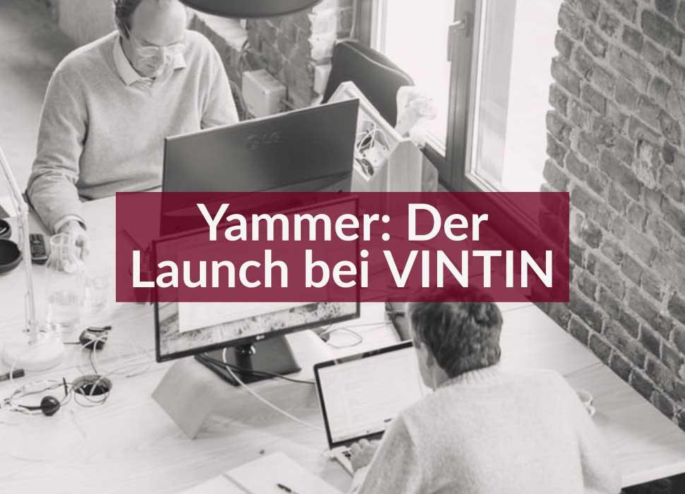 Yammer: Der Launch bei VINTIN