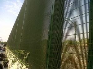 Montaje valla de seguridad tipo adif