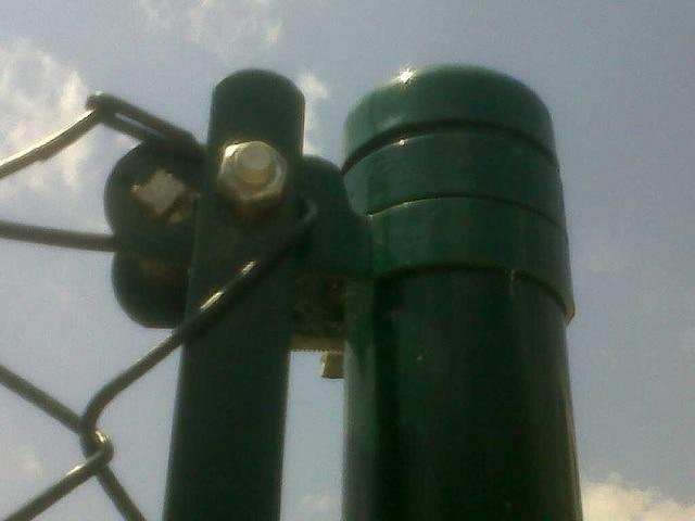 Accesorios poste tubo redondo
