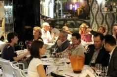 wine tasting audience
