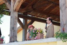 """""""scena balconului"""" cu familia Kripp"""
