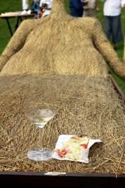 cina rustica pe pat de fan