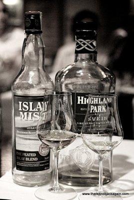 Islay Mist & Highland Park