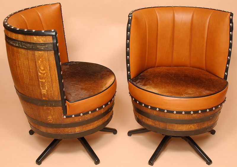 leather swivel barrel chair wheelchair bus wine | vinum vine page 6