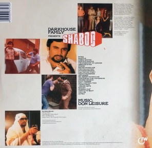 Darkhouse Family Presents Shaboo - Cover Back