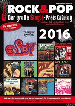 Der große Rock & Pop Single Preiskatalog 2016 | Vinyl Galore