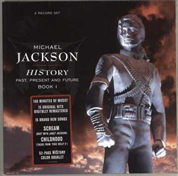 Michael Jackson – History – Past, Present And Future – Book I -
