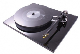 Rega RP6 High End Plattenspieler piano schwarz - 1
