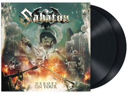 Sabaton Heroes on tour 2-LP Standard