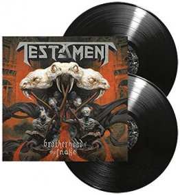 Testament Brotherhood of the snake 2-LP Standard