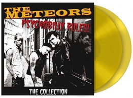 The Meteors Psychobilly rules! - The collection 2-LP gelb