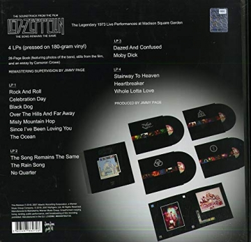 Led Zeppelin – The Song Remains The Same (180g) (4LP Box-Set) -