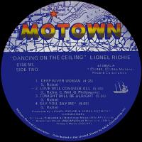 Lionel Richie  Dancing on the Ceiling   Vinyl Album ...