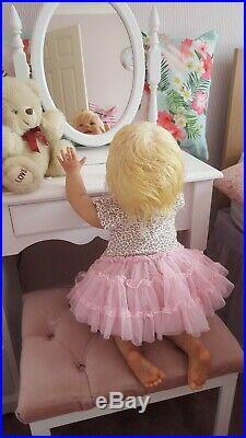 Amelia 25 Inch Crawling Toddler Reborn Baby Doll
