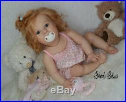 CUSTOM ORDER Reborn Doll Baby Girl Crawling Toddler Amelia by Bountiful baby 04 kn