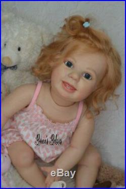 CUSTOM ORDER Reborn Doll Baby Girl Crawling Toddler Amelia by Bountiful baby 10 oj