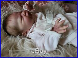 RARE! Reborn doll Miracle by Laura Lee Eagles