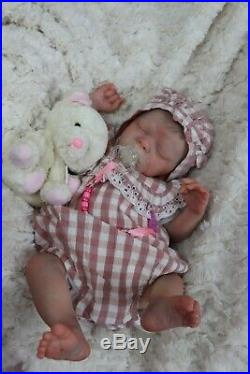 REBORN DOLL 6LBS 2oz 19 REALBORN BABY MIA with COA, BY MARIE TEXTURED SKIN