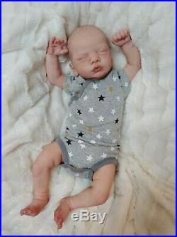 Reborn Baby Boy Romy by Gudrun Legler Limited Edition Lifelike Newborn Doll