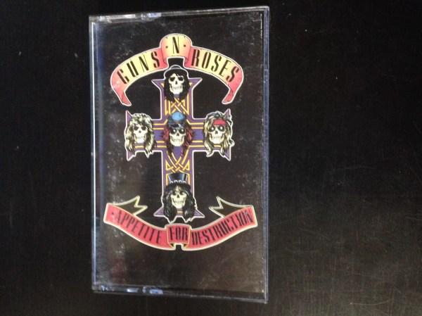 Used Cassette Guns ' Roses Appetite Destruction