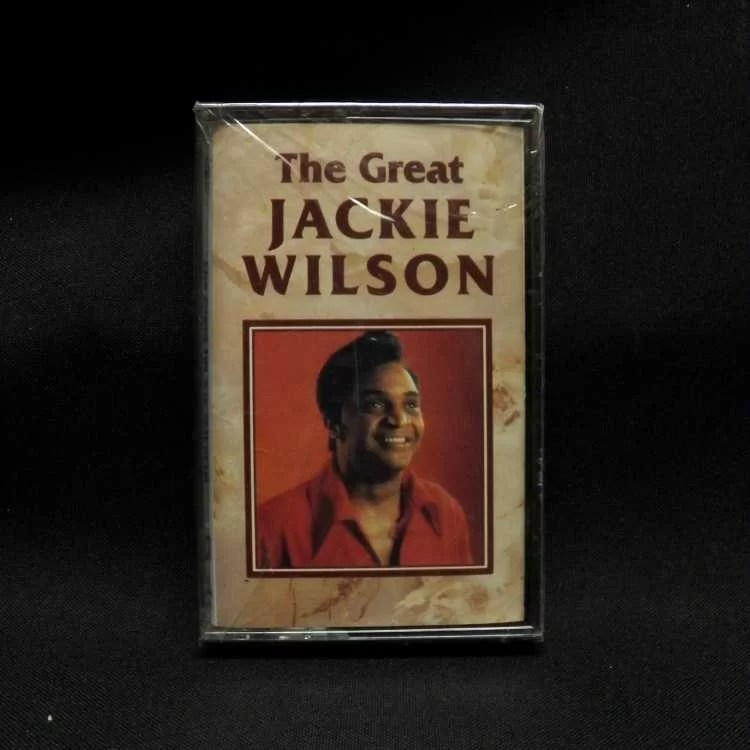SEALED Cassette Jackie Wilson The Great Jackie Wilson