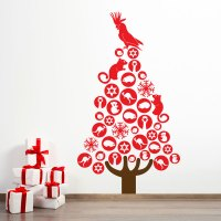 Australian Christmas Tree - Christmas Designs - wall decals