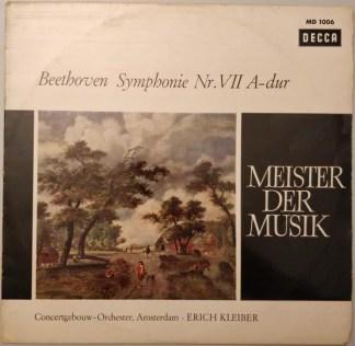 Beethoven* - Concertgebouw Orchestra, Amsterdam*, Erich Kleiber - Symphony Nr. VII A-dur (LP, Mono)