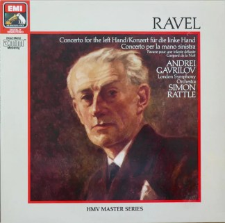 Andrei Gavrilov, London Symphony Orchestra*, Simon Rattle* - Ravel* - Concerto For The Left Hand (LP, Comp, RM)