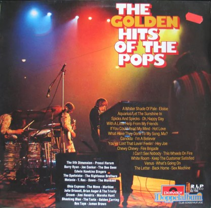 Various - The Golden Hits Of The Pops (2xLP, Comp, S/Edition)