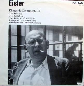 Hanns Eisler - Klingende Dokumente 3 (LP, Mono)