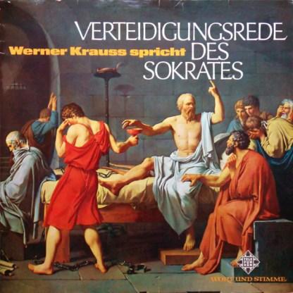 Werner Krauss* - Verteidigungsrede Des Sokrates (LP, Album, RE)