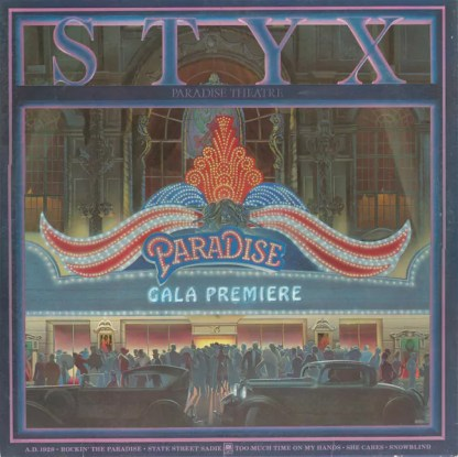 Styx - Paradise Theatre (LP, Album, Etch, Eur)