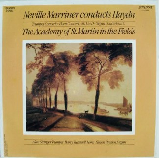 Joseph Haydn - Neville Marriner Conducts Haydn (LP)