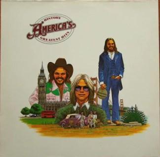America (2) - History · America's Greatest Hits (LP, Comp, RE)