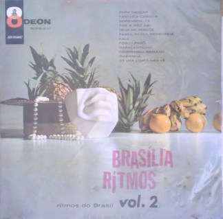 Brasília Ritmos - Ritmos Do Brasil Vol. 2 (LP, Album)