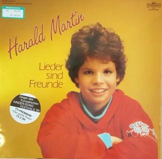 Harald Martin - Lieder Sind Freunde (LP, Club)