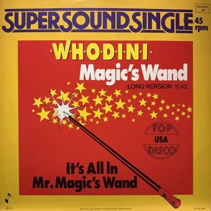 "Whodini - Magic's Wand (12"", Single)"