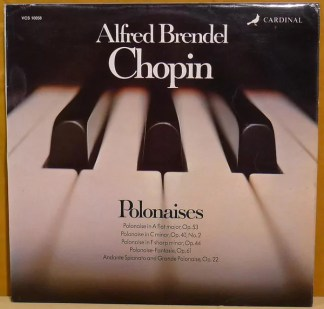 Frédéric Chopin, Alfred Brendel - Polonaises (LP)