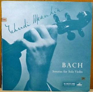 Yehudi Menuhin, Bach* - Sonatas For Solo Violin, Volume 2 (LP, Mono)