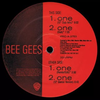 """Bee Gees - One (12"""", Promo)"""