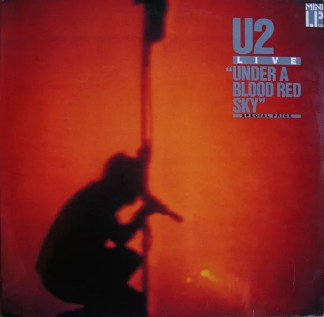 U2 - Under A Blood Red Sky (Live) (LP, MiniAlbum, RE, Spe)