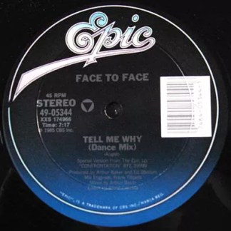 """Face To Face (3) - Tell Me Why (12"""")"""