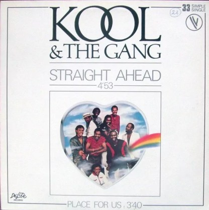 "Kool & The Gang - Straight Ahead (12"", Single, Ltd)"