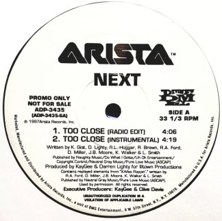 """Next (2) - Too Close (12"""", Promo)"""