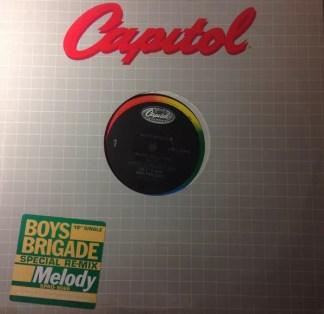 """Boys Brigade - Melody (12"""", Single, Promo)"""